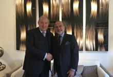 Նախագահ Արմեն Սարգսյանը հանդիպել է «Դասո» ընկերության ղեկավարի հետ