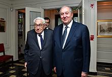Նախագահ Սարգսյանը Հենրի Քիսինջերին հրավիրել է այցելել Հայաստան