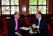 Նախագահ Սարգսյանը  հանդիպել է Մյունխենի անվտանգության միջազգային համաժողովի նախագահի հետ