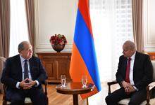 Նախագահ Արմեն Սարգսյանն ընդունել է Հայաստանում ՌԴ դեսպանին