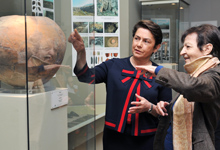 Mrs. Nouneh Sarkissian visited the Museum of History of Armenia