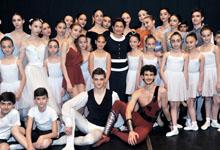 Госпожа Нунэ Саркисян посетила Ереванский Государственный хореографический колледж
