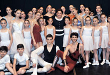 Mrs. Nouneh Sarkissian visited Dancing State College in Yerevan