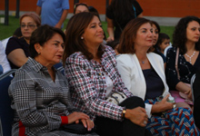 Mrs. Sarkissian was present at the Princess and the Pea open air performance