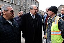 Фонды «Ереван - моя любовь» и «Гюмри - моя любовь» - будущие партнёры. Президент Саркисян совершил рабочую поездку в Гюмри
