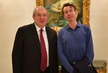 Նախագահ Արմեն Սարգսյանը հանդիպել է Մտքերի գագաթնաժողովի գլխավոր գործընկեր Թիերի Մալրեի հետ