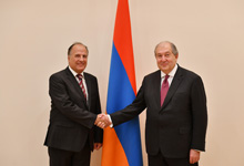 Newly appointed Ambassador presented his credentials to the President: Armenia views as important the expansion of cooperation with Croatia