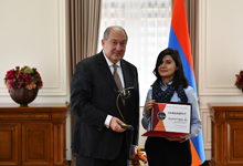 Presidential awards were handed to three teams participants of Sevan Startup Summit-2018