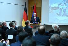 Այստեղ եմ  հայ ժողովրդի անունից երախտագիտության խոսք ասելու․ նախագահ Սարգսյանն այցելել է Գերմանական Կարմիր խաչ