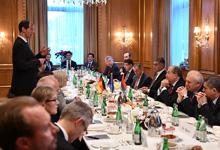 Նախագահ Սարգսյանը հանդիպել է գերմանական առաջատար մի շարք ընկերությունների ղեկավարների հետ