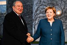 Բեռլինում կայացել է նախագահ Արմեն Սարգսյանի և կանցլեր Անգելա Մերկելի հանդիպումը