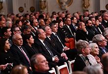 Նախագահը Բեռլինում ներկա է գտնվել Հայաստանի ազգային ֆիլհարմոնիկ նվագախմբի համերգին՝  նվիրված Արամ Խաչատրյանի 115-ամյակին