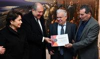 Նախագահ Արմեն Սարգսյանի աջակցությամբ Գյումրիում կընդլայնվի բնական ներկերի արտադրությունը