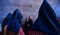Панихида в память о жертвах землетрясения 1988 года