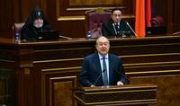 Հանրապետության նախագահ Արմեն Սարգսյանի ելույթը 7-րդ գումարման Ազգային ժողովի առաջին նիստում