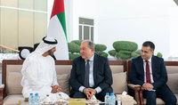 Նախագահը հանդիպել է Աբու Դաբիի թագաժառանգ, ԱՄԷ Զինված ուժերի գլխավոր հրամանատարի տեղակալ Շեյխ Մոհամմեդ բին Զայեդ Ալ Նահյանի հետ
