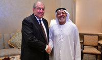 Նախագահը հանդիպել է ALNOWAIS Investments ընկերության հիմնադիր անդամ և նախագահ Հուսեին Ալ Նովայիսի հետ