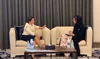 ԱՄԷ պետնախարարը Տիկին Նունե Սարգսյանին հրավիրել է Դուբայում անցկացվելիք գրքի փառատոնին