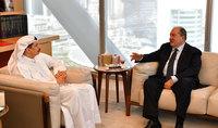 Президент обсудил с руководством Международного финансового центра Дубая возможности сотрудничества