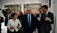Armenian art should certainly be presented here: President Sarkissian visited Louvre Abu Dhabi Museum