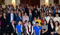 We are a God chosen people and have no option but to win: President Armen Sarkissian met in Abu Dhabi with the representatives of the Armenian community