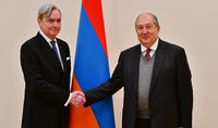 President Sarkissian and the newly appointed Ambassador of Uruguay discussed prospects of cooperation