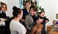 Госпожа Нунэ Саркисян посетила благотворительный «Добрый домик»
