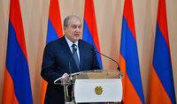 Речь Президента Армена Саркисяна ко Дню армии