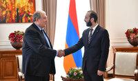 Նախագահ  Սարգսյանը և ԱԺ նախագահը կարևորել են խորհրդարանի ակտիվ գործունեությունը