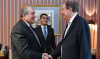 Working visit of the President Armen Sarkissian to French Republic