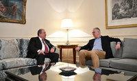 Նախագահ Արմեն Սարգսյանը և Nestlé Waters ընկերության գործադիր տնօրենը քննարկել են համագործակցության հնարավորությունները