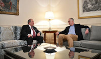 President Armen Sarkissian and Executive Director of the Nestlé Waters company discussed opportunities for cooperation