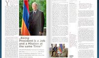 Быть президентом – это одновременно и работа, и миссия. Интервью Армена Саркисяна журналу Society