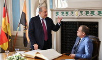 President Armen Sarkissian arrived to FRG; he met with the Mayor of Heidelberg