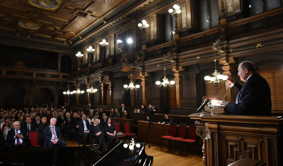 President Armen Sarkissian visited the University of Heidelberg: I have the idea and the mission to make Armenia a successful scientific and technological country