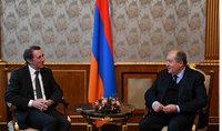 Համաշխարհային բանկը և Հայաստանն ունեն գործընկերության հարուստ պատմություն. Արմեն Սարգսյանն ու Սիրիլ Մյուլլերը հանդիպել են դեռ 1996 թվականին