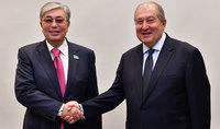 Արմեն Սարգսյանը շնորհավորել է Կասիմ-Ժոմարտ Տոկաևին Ղազախստանի նախագահի պաշտոնը ստանձնելու առթիվ