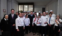 Գյումրին՝ նաև համի մշակույթի կենտրոն. նախագահ Սարգսյանը «Ֆրանսիայի համը» խորագրով ընթրիքին առաջարկել է տարբեր երկրներում նախաձեռնել «Հայաստանի համը» միջոցառումների շարք
