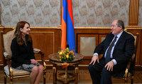 Նախագահ Սարգսյանը հանդիպել է  ԱԺ «Իմ քայլը» խմբակցության ղեկավարի և քարտուղարի հետ