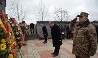 Հայաստանի և Արցախի նախագահները մասնակցել են Արցախյան գոյամարտում զոհված մաղավուզցիների հիշատակը հավերժացնող հուշարձանի բացմանը