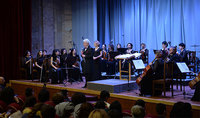 Հայաստանի և Արցախի նախագահները ներկա են գտնվել Արցախի  կամերային նվագախմբի 15-ամյակին նվիրված համերգին