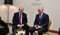 Նախագահ Սարգսյանը հանդիպել է Ղազախստանի արտաքին գործերի նախարարի հետ