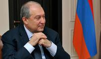 """Интервью президента Саркисяна телеканалу """"Шант"""""""