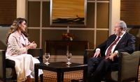 "Интервью президента Саркисяна телеканалу ""Amman TV """