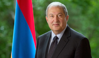 President Sarkissian sent a congratulatory letter to the Yezidi community of Armenia on the occasion of New Year - Melek Taus