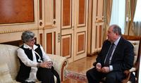 Արմեն Սարգսյանը հանդիպել է Ա. Ալիխանյանի անվան ազգային գիտական լաբորատորիա հիմնադրամի տնօրենի հետ