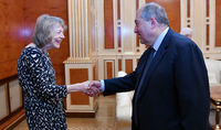 President Armen Sarkissian met with representatives of the British Arc Publications publishers