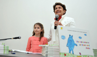 Mrs. Nouneh Sarkissian gave the kids a feast of fairy tales