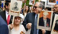 Президент Саркисян принял участие в шествии «Бессмертного полка»