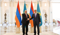 President Armen Sarkissian met with President Tokaev: Relations between Armenia and Kazakhstan are a bright example of friendship and cooperation